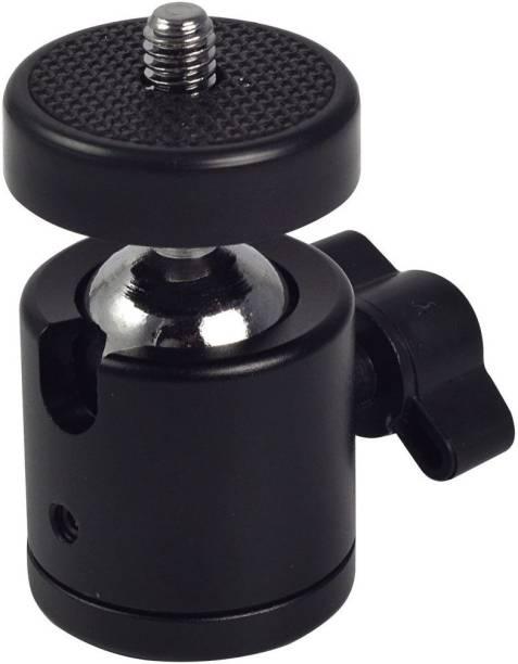 "Like Star Swivel 1/4"" Screw Tripod Ball Head Bracket Holder Mount Ballhead for DSLR Camera Tripod Ball Head"