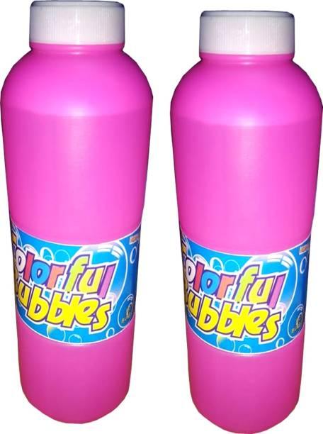Jern 500ml pack of 2 Bubble gun liquid for Bubble solution Toy Bubble Maker