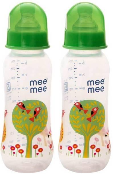 MeeMee Eazy Flo™ Premium Baby Feeding Bottle (Green) - 250 ml