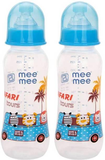 MeeMee Eazy Flo™ Premium Baby Feeding Bottle (Blue) - 250 ml