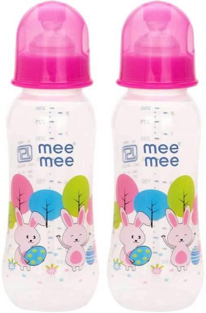 MeeMee Eazy Flo™ Premium Baby Feeding Bottle (Pink) - 250 ml