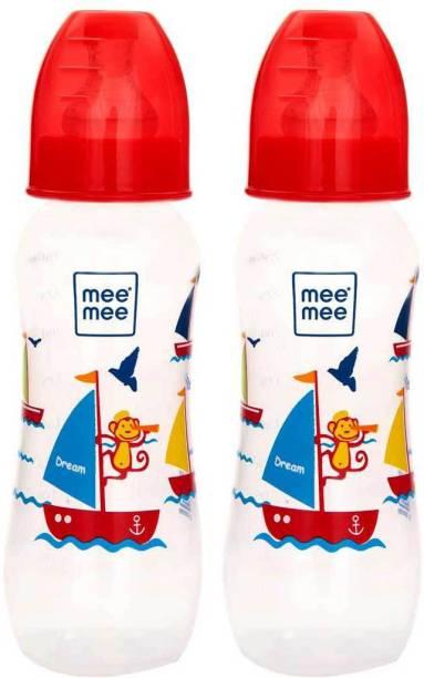 MeeMee Eazy Flo™ Premium Baby Feeding Bottle (Red) - 250 ml