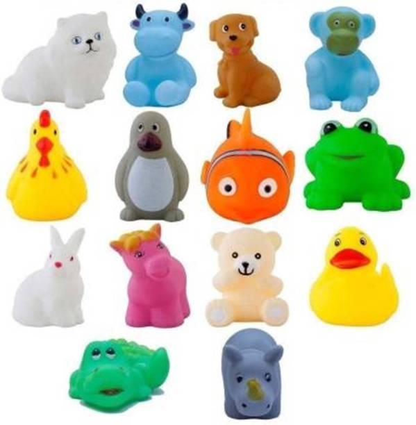 Hetkrishi Bath Toys for Baby Non-Toxic Toddler Set Multi-Colour Bath Toy