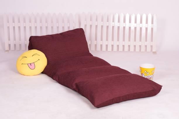 PUMPUM Lounge Pillow 10 inch Single Fiber Mattress