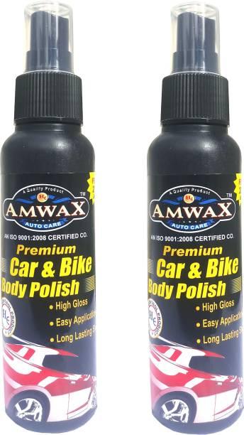amwax Liquid Car Polish for Metal Parts, Exterior