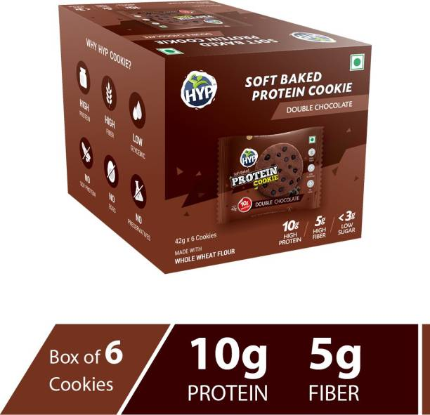 HYP Protein Cookie - Double Chocolate (Box of 6 Cookies) Cookies