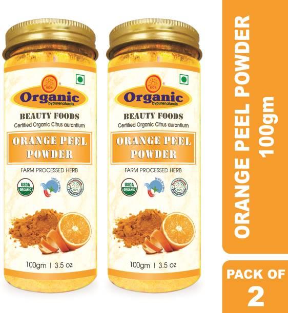 byPurenaturals Organic Orange Peel Herb Powder