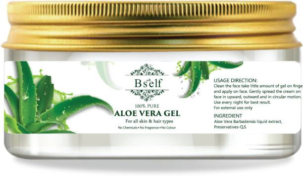 Bself Pure AloeVera Gel for Skin and Hair Care