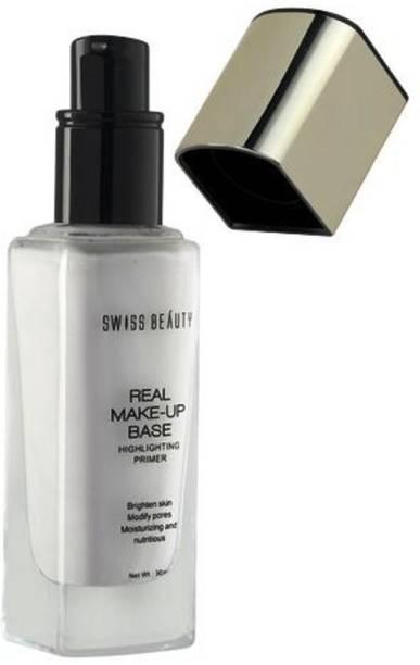 SWISS BEAUTY Real Make-Up Base Highlighting Primer Golden Tint Highlighter