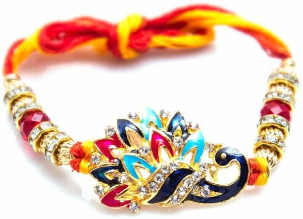 Earnam Bracelet Chawal Roli Pack, Rakhi, Greeting Card  Set