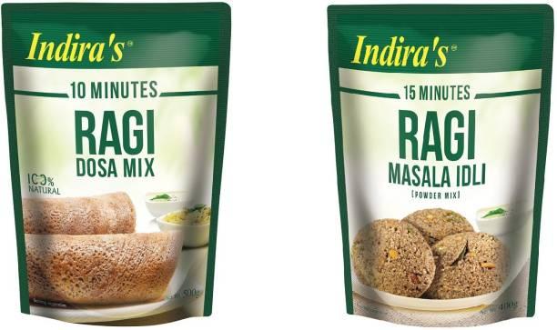 Indira Ragi Dosa + Ragi Idli 900 g