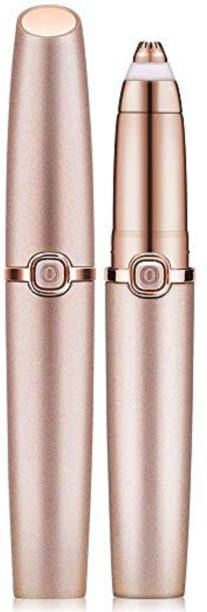Flawless Eyebrow Hair Remover for Women, Painless Eyebrow Trimmer, Facial Hair Removal, Electric Eyebrow Shaver with Light  Runtime: 30 min Trimmer for Women
