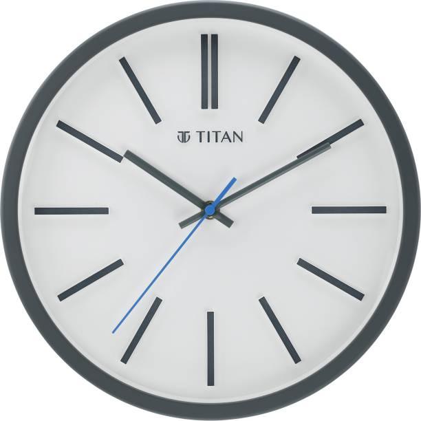 Titan Analog 30.5 cm X 30.5 cm Wall Clock