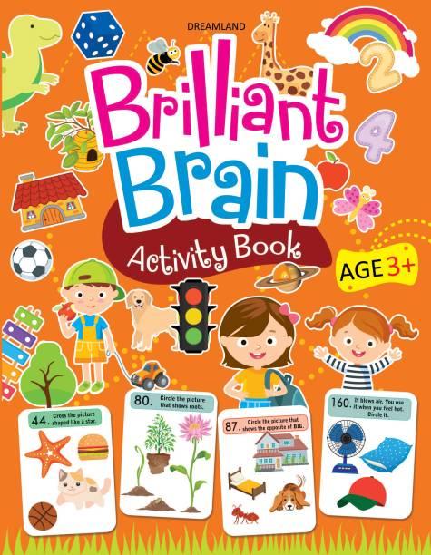 Brilliant Brain Activity Book 3+
