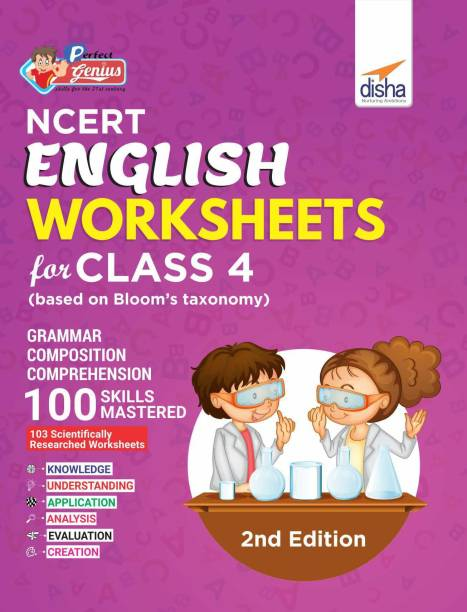 Perfect Genius NCERT English Worksheets for Class 4 (based on Bloom's taxonomy) 2nd Edition - (Based on Bloom's Taxonomy) 2 Edition