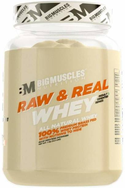 BIGMUSCLES NUTRITION Raw & Real Whey Protein Whey Protein