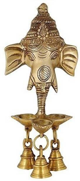 RAMA METAL WALLHANGING Brass Hanging Diya