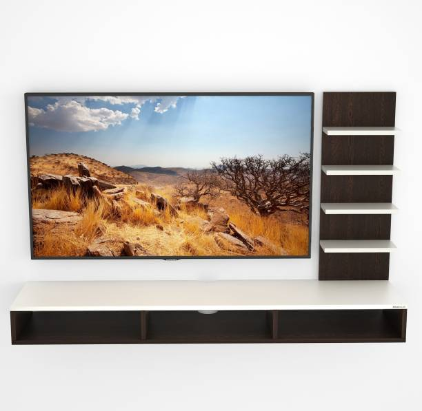 BLUEWUD Primax Engineered Wood TV Entertainment Unit