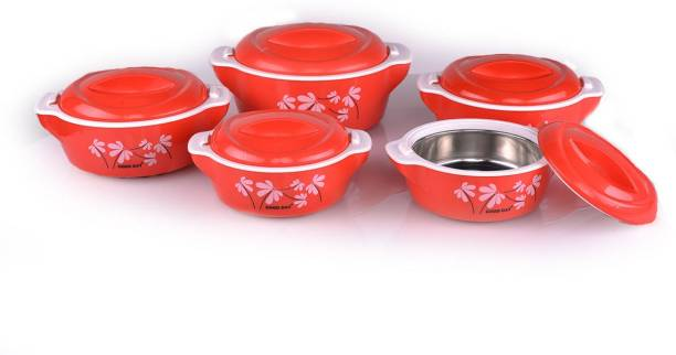Acetech Pack of 5 Cook and Serve Casserole Set