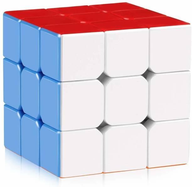 K A Enterprises Rubics Cube High Speed Stickerless Magic Brainstorming Puzzle Cube Game