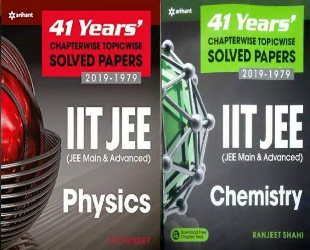 41 Years' Chapterwise Topicwise Solved Papers(1979-2019) Physics & Chemistry(Set Of Two Books) For Iit Jee 2020 Exam