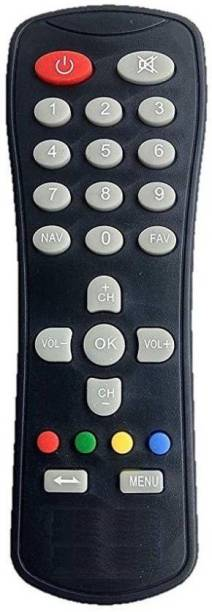 GIFFEN Compatibae remote used for GTPL / UCN IR DTH-1596 REMOTE FOR DTH GTPL, ASIANET, UCN Remote Controller