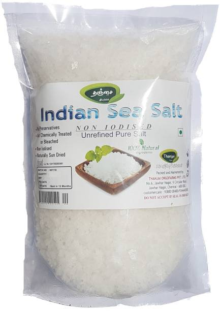 THANJAI NATURAL Indian Non Iodised Sea Salt 500grams Sea Salt