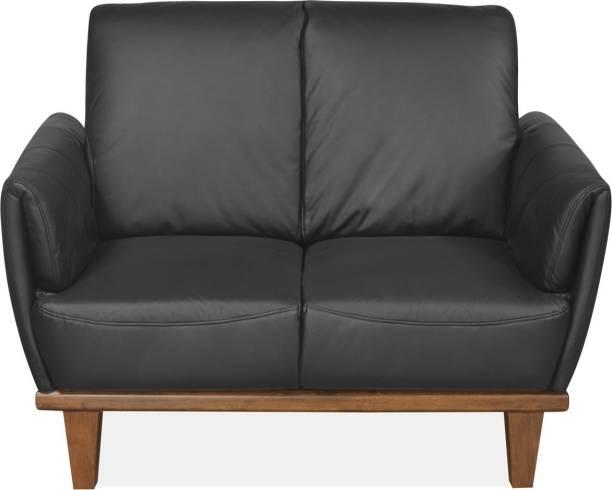 Black Leather Sofa - Buy Black Leather Sofa online at Best ...