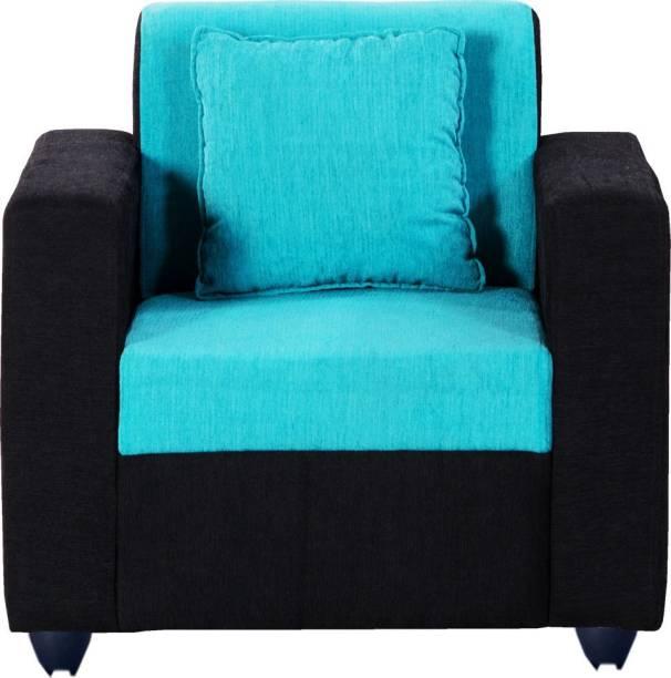 Bharat Lifestyle Desy Fabric 1 Seater  Sofa