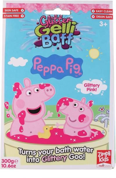 SIMBA Zimpli kids Peppa Pig Pink Glitter Gelli Baff Bath Bath Toy