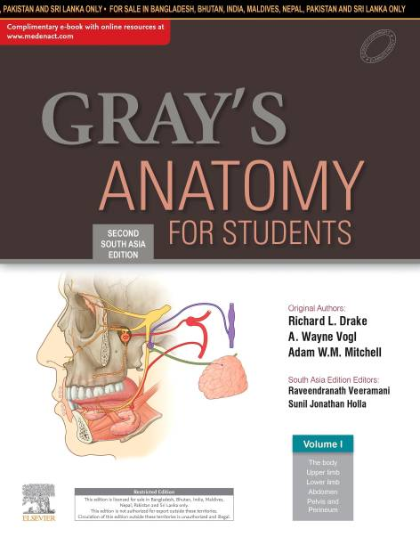 Gray's Anatomy For Students: Second South Asia Edition
