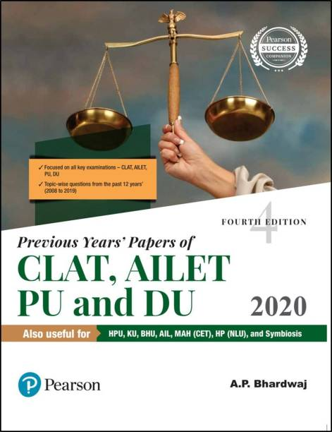 Previous Years' Papers of Clat, Ailet, Pu and Du