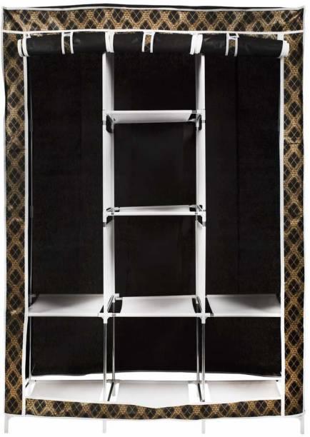 Maison & Cuisine Foldable 6+2 Racks (88130-3) Polyester Collapsible Wardrobe