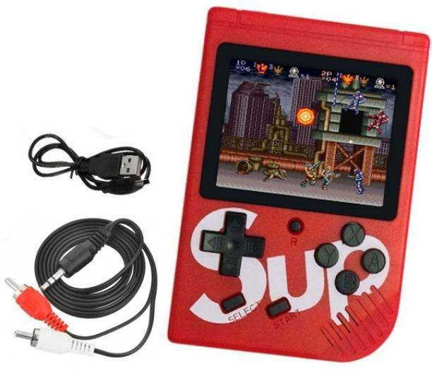 BUY SURETY New Collection SUP Handheld Game Console,Digital Portable with 400 In 1, Snow Bros, Contra Series, Super Mario, Bomber Man, Spider Man, Adventure Island, SEGA, DR Mario, Ninja gaidan, Double Dragon, Chess