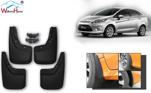 WolkomHome Front Mud Guard, Rear Mud Guard For Ford Fiesta NA