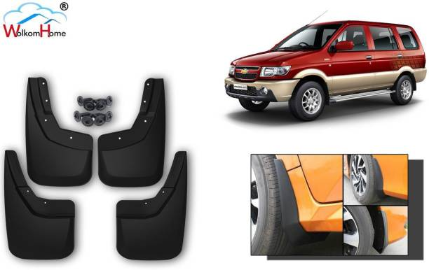 WolkomHome Front Mud Guard, Rear Mud Guard For Chevrolet Tavera NA