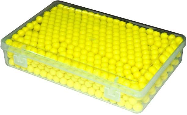 Jern 1000 Pcs 6 MM Plastic BB Bullets For Toy Guns & Air Gun | | Yellow` Shot Put