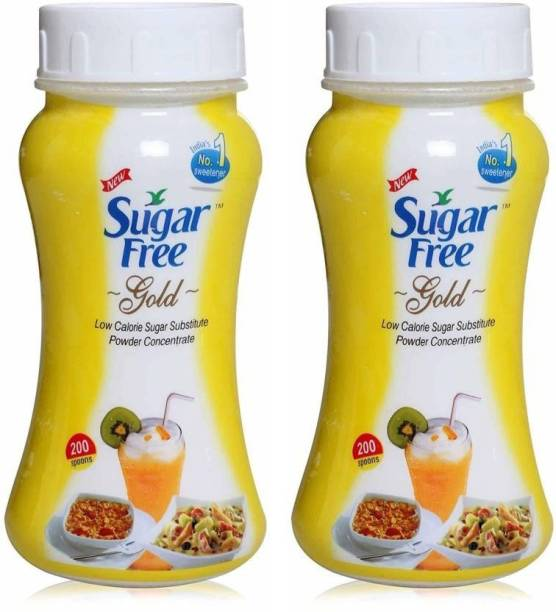 Sugar free Gold Low Calorie Powder 100 Gm - (Pack of 2) Sweetener