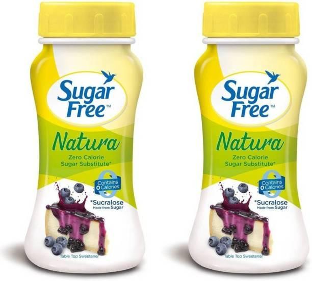 Sugar free Natura Sugar Substitute powder - 100 g (Pack of 2) Sweetener
