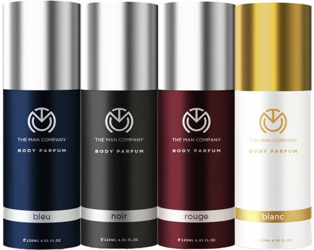 THE MAN COMPANY Combo For Multifaceted Man Deodorant Spray  -  For Men