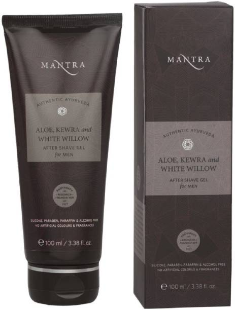 Mantra Authentic Ayurvedic Aloe Kewra & White Willo After Shave Gel