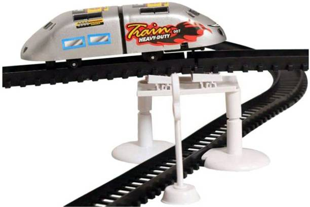 Bonkerz High Speed Metro With Flyover Track And Sign Boards For Kids