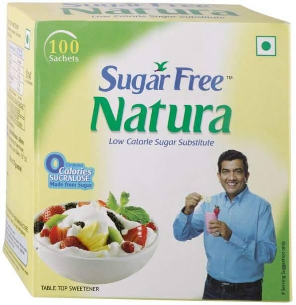 Sugar free Natura 100 Sachets - Pack of 2 Sweetener