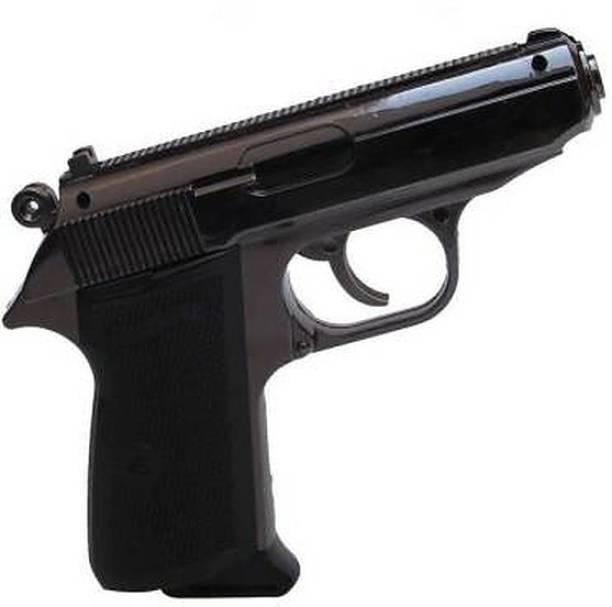 VTI 508 GUN SHAPE Cast Iron, Nickel, Cast Iron Gas Lighter