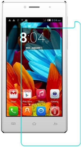 CHAMBU Tempered Glass Guard for Spice Mobiles Stellar 451 3G