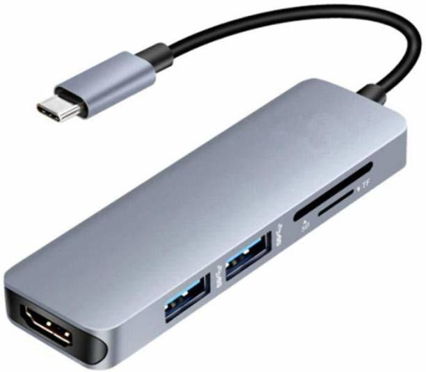 Bhavi Hub Multipor TypeC_5in1_HDMI_hub USB Hub