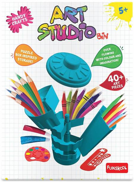 FUNSKOOL Handycrafts Art Studio Bin