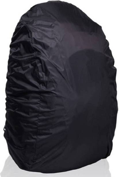 northzone Polyester 30 LTR Black Rain Cover For Laptop Bags Waterproof, Dust Proof Laptop Bag Cover, School Bag Cover