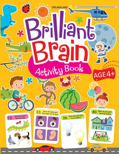 Miss & Chief Brilliant Brain Activity Book 4+ (Paperback)