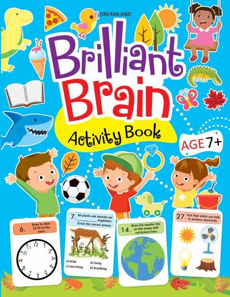 Miss & Chief Brilliant Brain Activity Book 7+ (Paperback)
